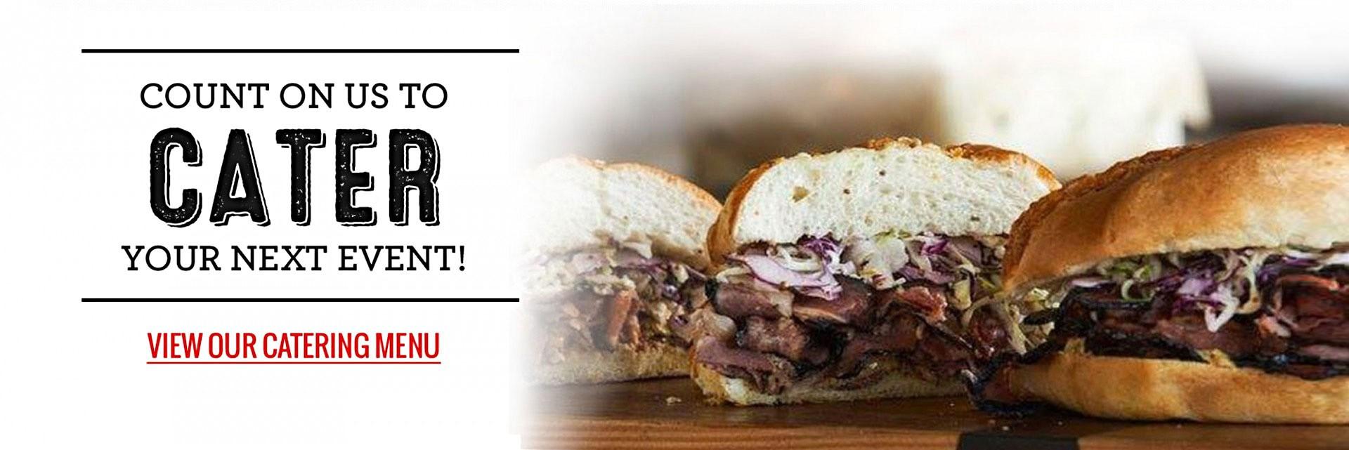 Bronx Sandwich Company Catering Slider