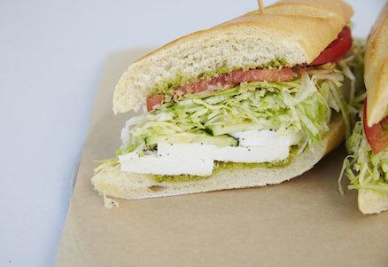 Bronx Sandwich Company Caprese Sandwich