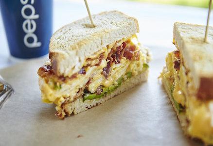 Bronx Sandwich Company Egg, Avocado, Bacon Cheese