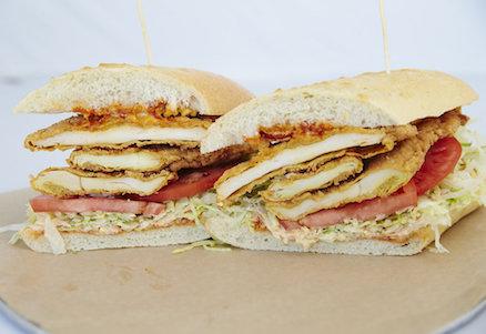 Bronx Sandwich Company Spicy Fried Chicken