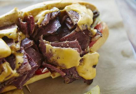 Bronx Sandwich Company West Coast Pastrami